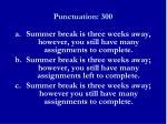 punctuation 3001