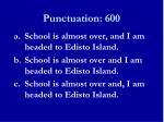 punctuation 6001