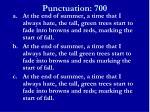 punctuation 7001