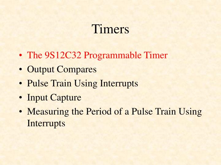 Timers1