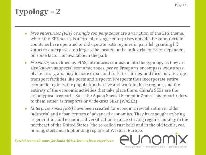 Typology – 2