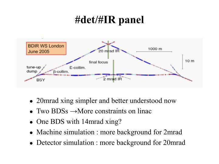 #det/#IR panel