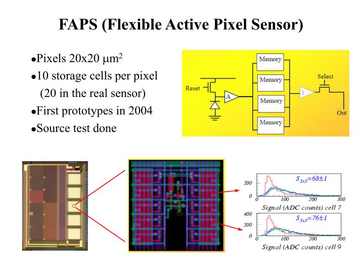 FAPS (Flexible Active Pixel Sensor)