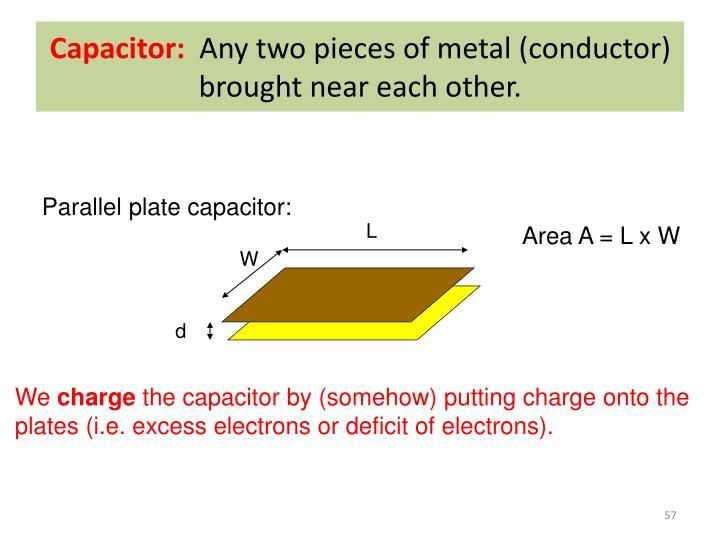 Capacitor: