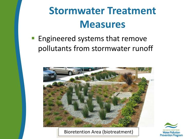 Stormwater Treatment Measures
