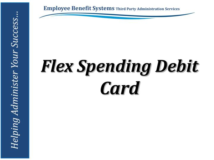 Flex Spending Debit