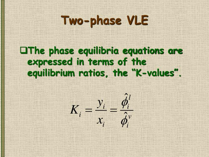 Two-phase VLE