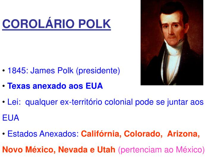 COROLÁRIO POLK