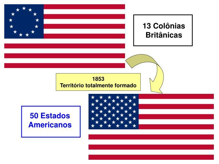 13 Colônias Britânicas