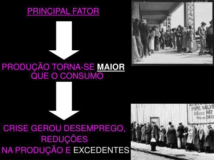 PRINCIPAL FATOR