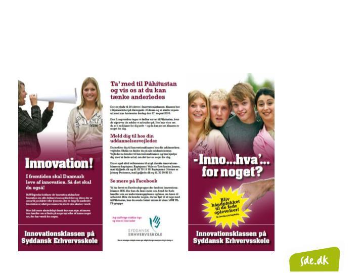 Har I behov for innovative kompetencer?