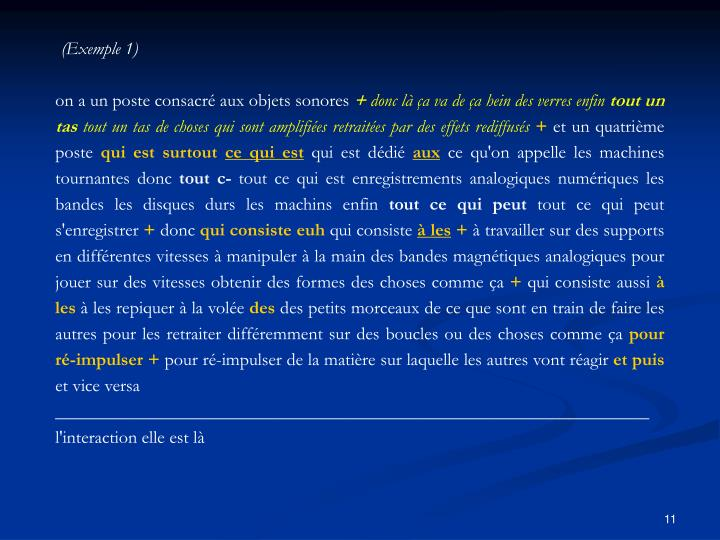 (Exemple 1)