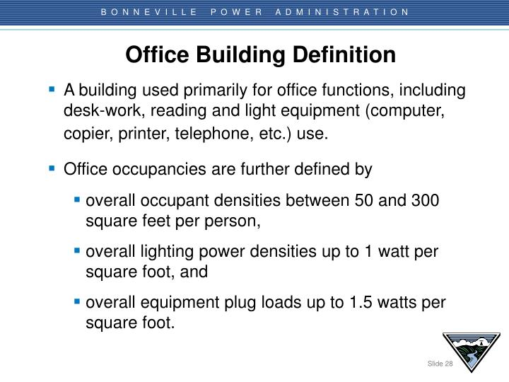 Office Building Definition