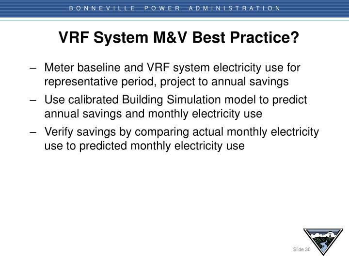 VRF System