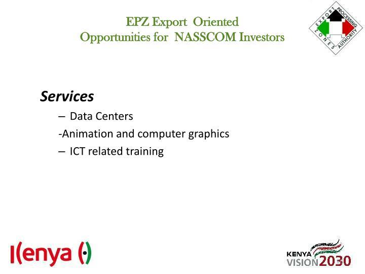 EPZ Export  Oriented