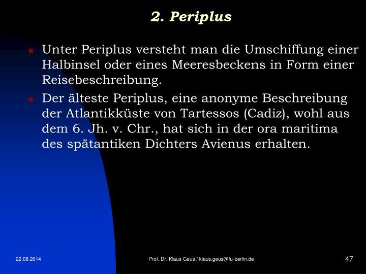 2. Periplus