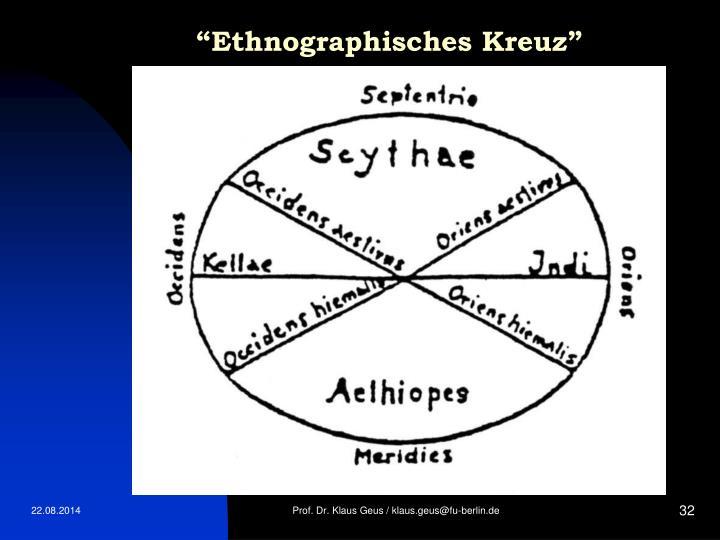 """""""Ethnographisches Kreuz"""""""