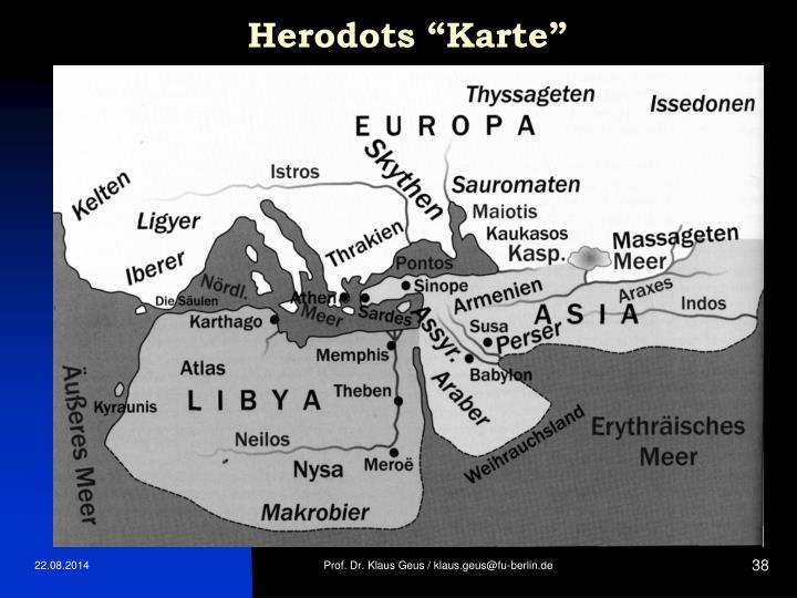 """Herodots """"Karte"""""""