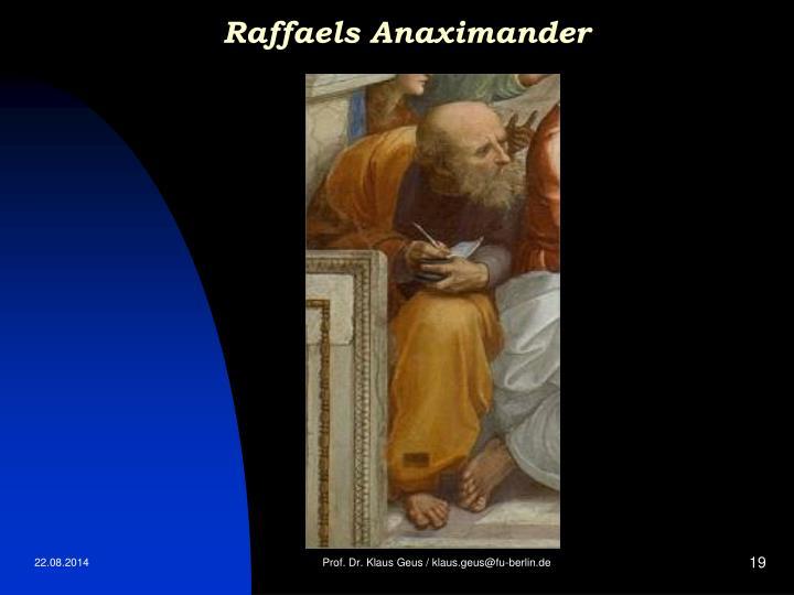 Raffaels Anaximander