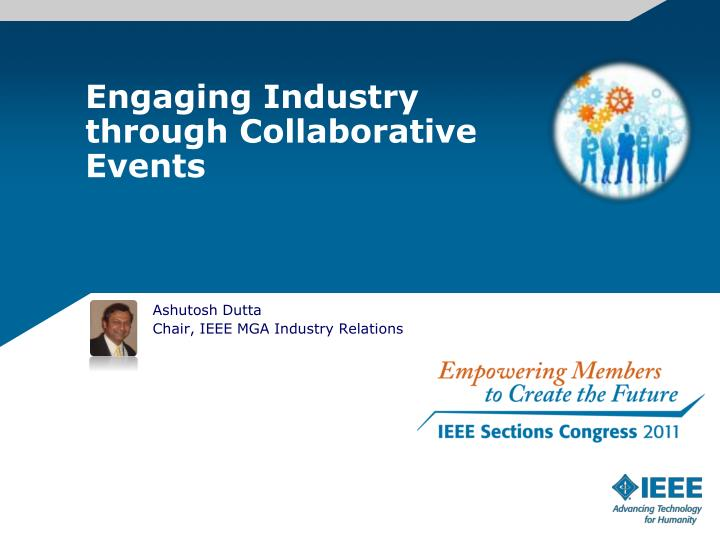Engaging Industry through Collaborative Events