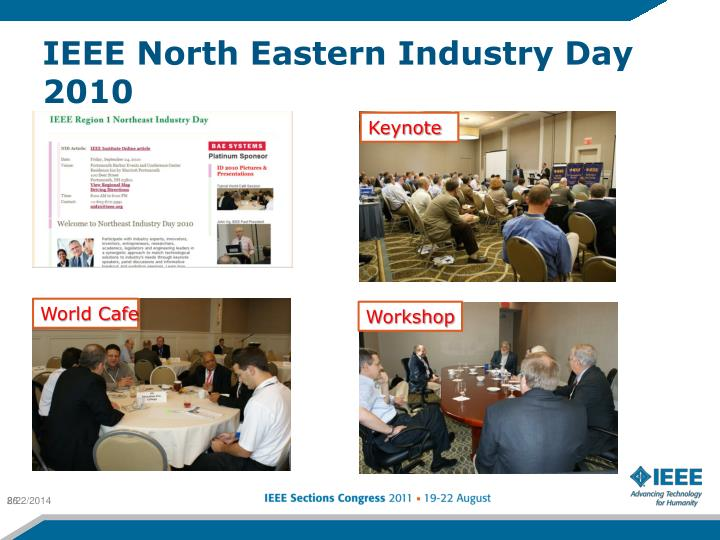 IEEE North Eastern Industry Day 2010