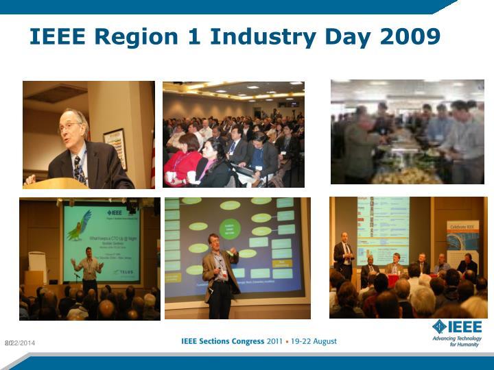 IEEE Region 1 Industry Day 2009