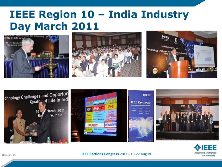 IEEE Region 10 – India Industry Day March 2011