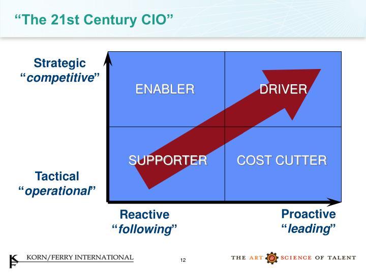 """The 21st Century CIO"""