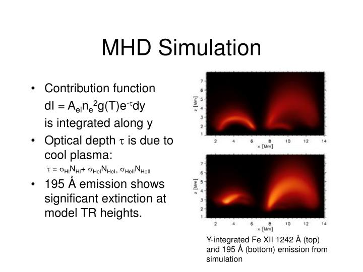MHD Simulation