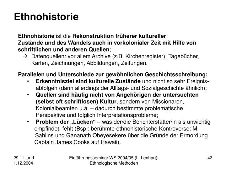 Ethnohistorie