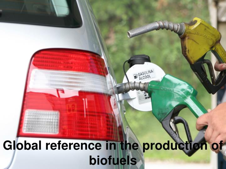 Global reference in the production of biofuels
