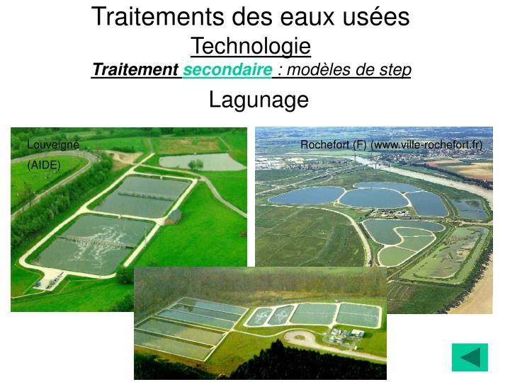 Ppt traitements des eaux us es plan powerpoint presentation id 3434204 - Lagunage des eaux usees ...