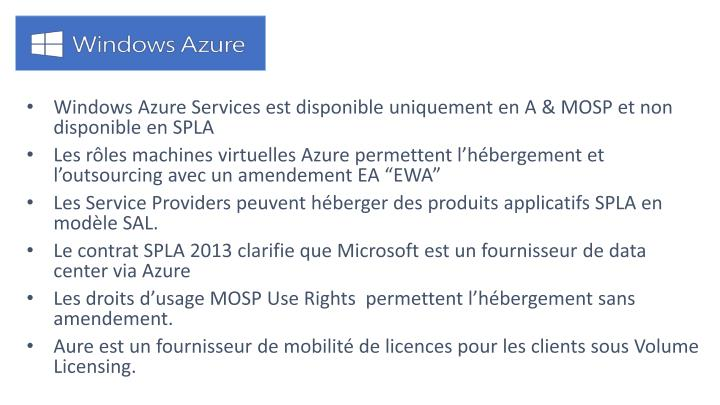 Windows Azure Services