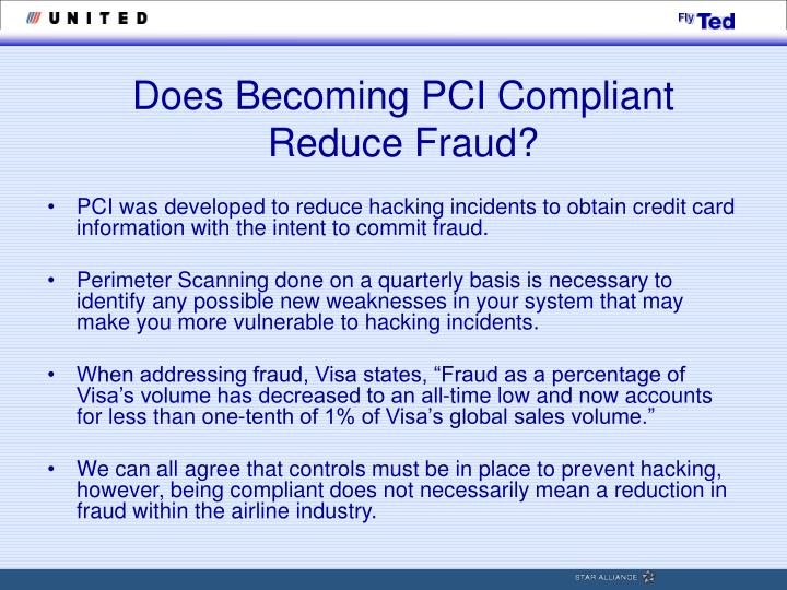 Does Becoming PCI Compliant Reduce Fraud?