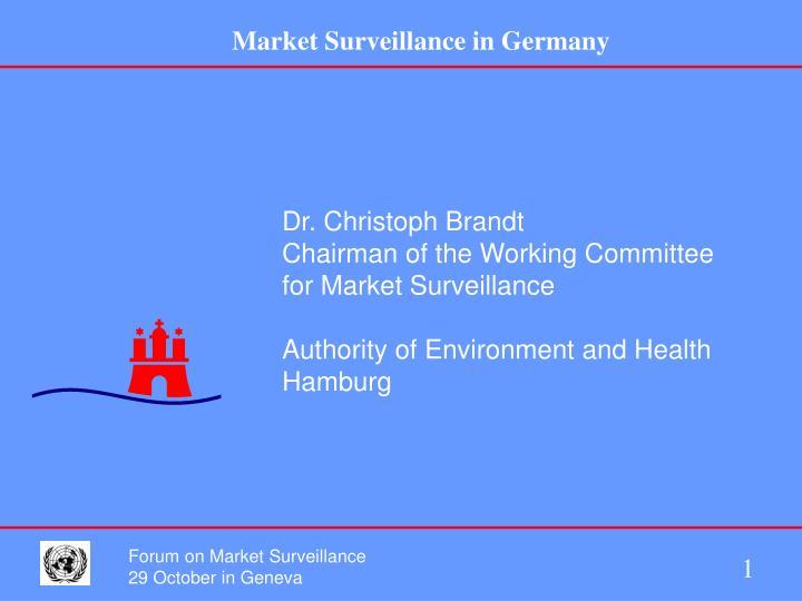 Dr. Christoph Brandt