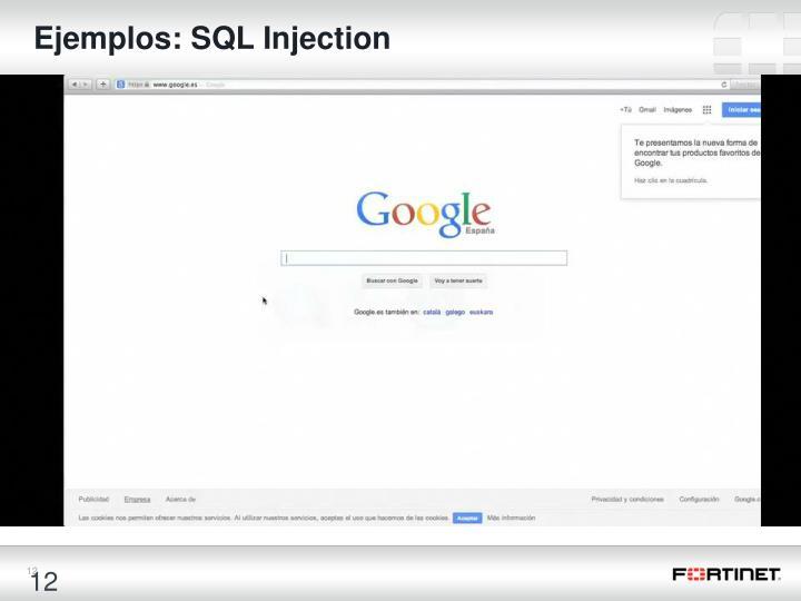 Ejemplos: SQL