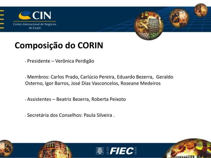 Composição do CORIN