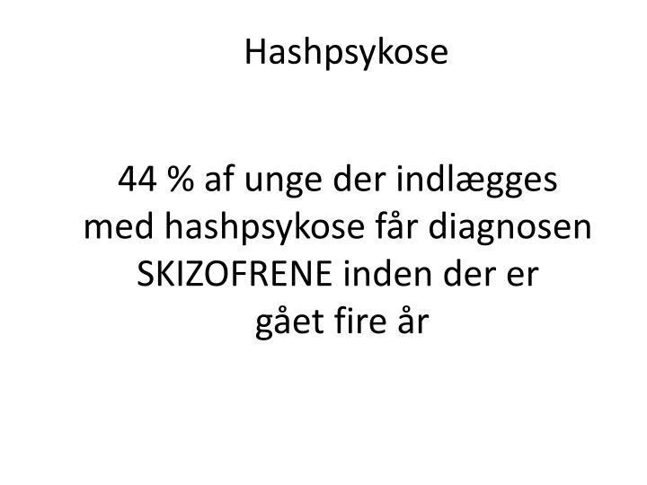 Hashpsykose
