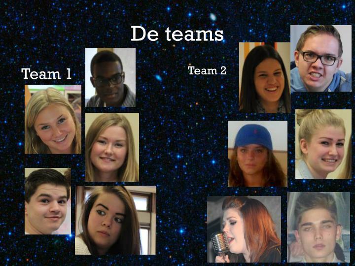 De teams