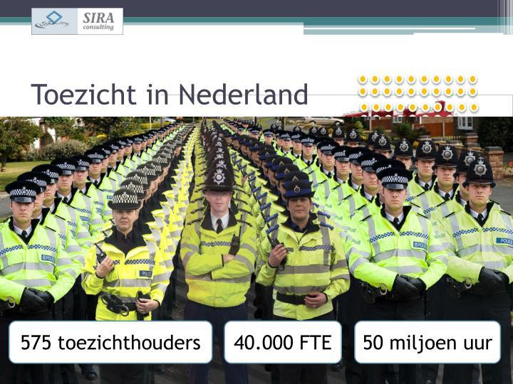 Toezicht in Nederland