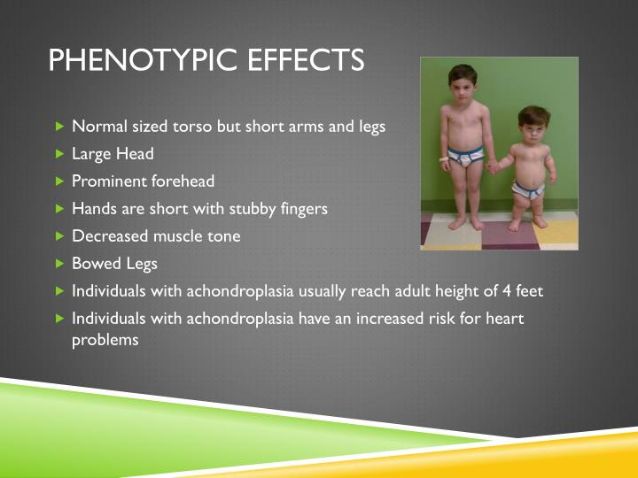 Phenotypic effects