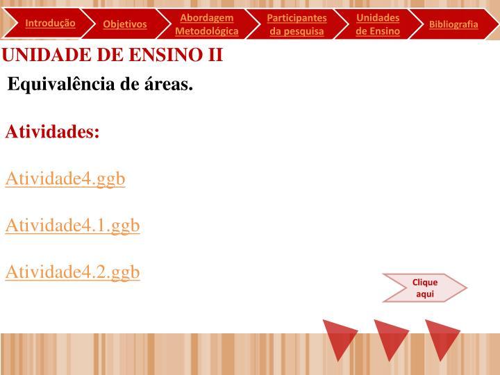 UNIDADE DE ENSINO II