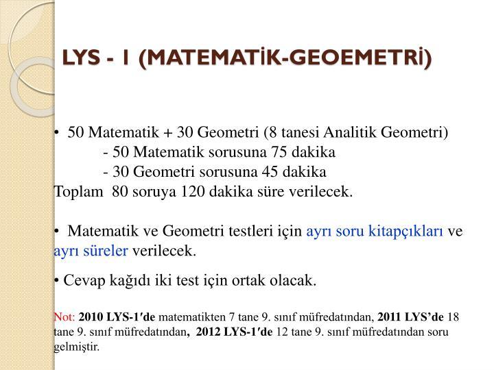LYS - 1 (