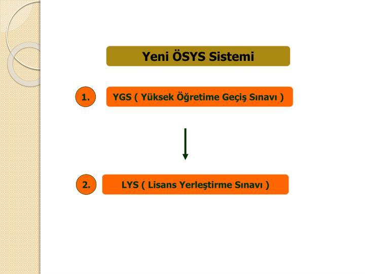 Yeni ÖSYS Sistemi