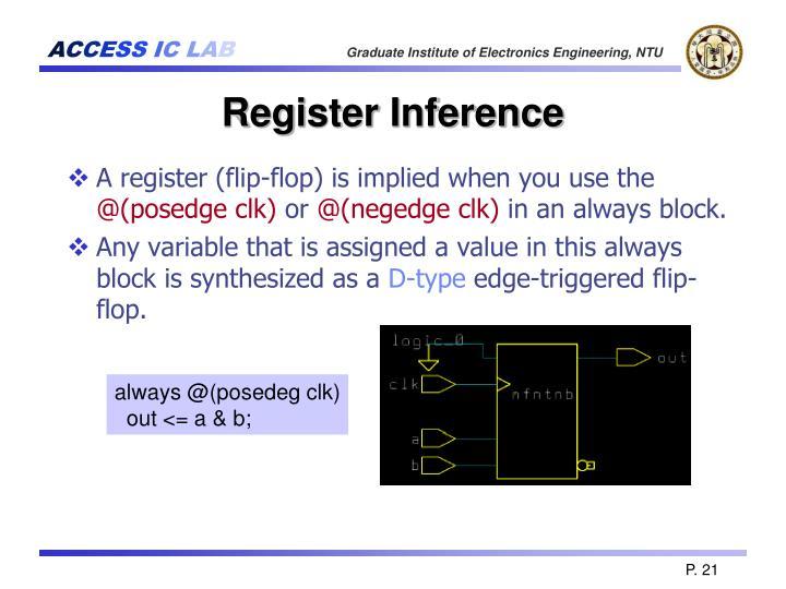 Register Inference