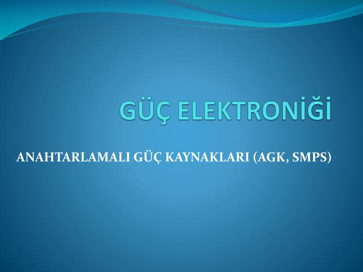 g elektron