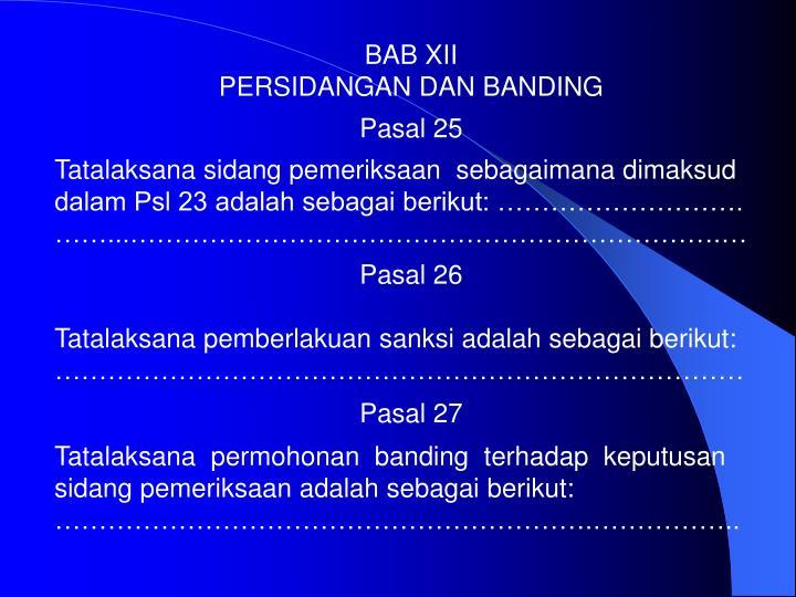 BAB XII