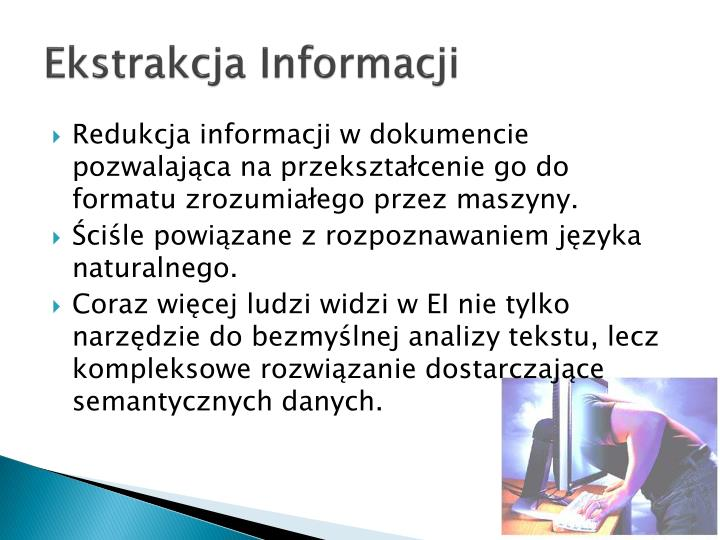 Ekstrakcja Informacji