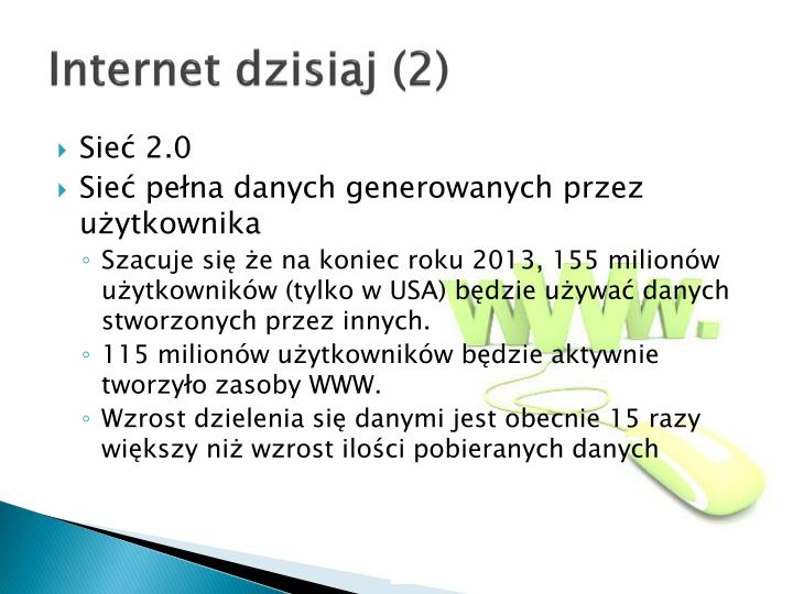 Internet dzisiaj (2)