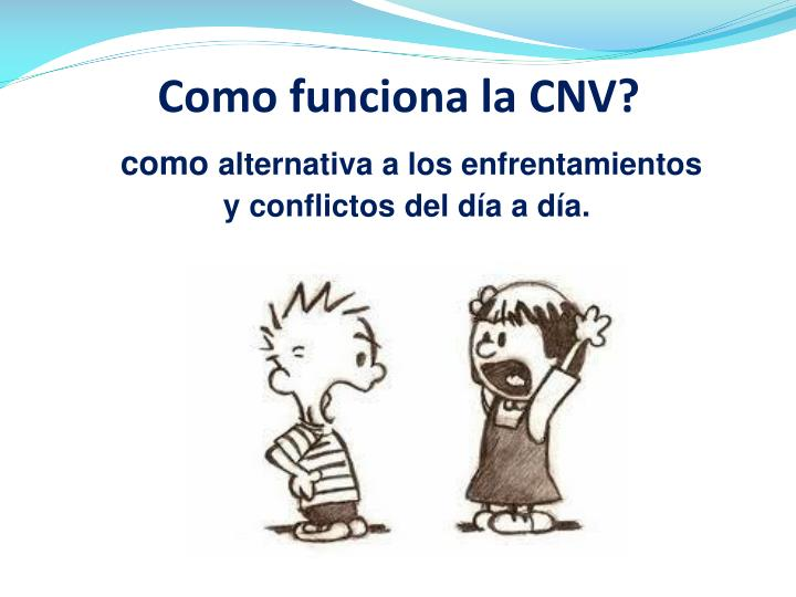 Como funciona la CNV?